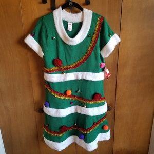 Holiday Time Christmas Tree Dress